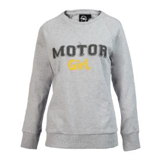 "Bild von Fashion Longsleeve ""Motor Girl"", grau melange"