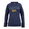 Image sur T-Shirt à manches longues pour femme « Motor Girl », bleu