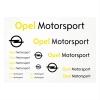 Immagine di Set adesivi Motorsport, DIN A4