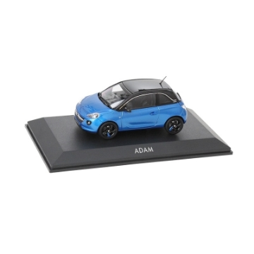 Immagine di Opel Adam 1:43, arden blue / onyx black