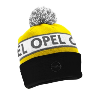 Picture of Pompom hat, yellow