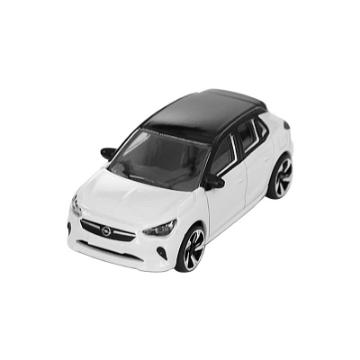 Image de Voiture miniature Corsa blanc/noir