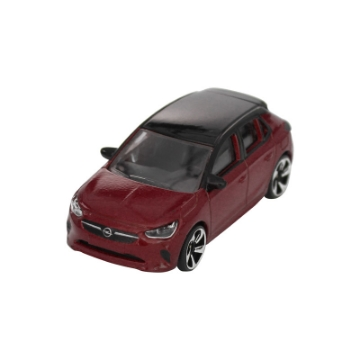 Picture of Corsa toy car, chili red/ black