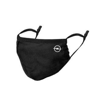 Afbeelding van Opel mondkapje, zwart