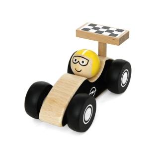 Bild von Holzauto Rennwagen