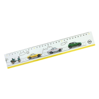 Picture of Ruler with car magnets